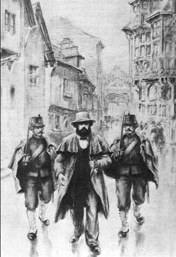 Marx arrested in Brussels