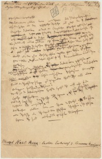 Page from the original manuscript