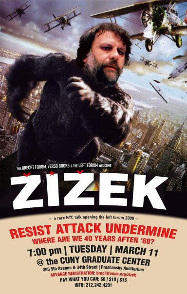 zizek in NYC March 11