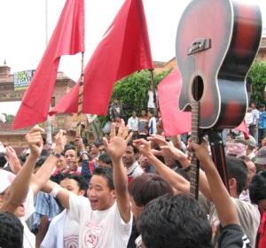 Maoist victory in Nepal