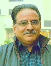 Prachanda, chairman of the Communist Party of Nepal (Maoist) and new Prime Minister of Nepal
