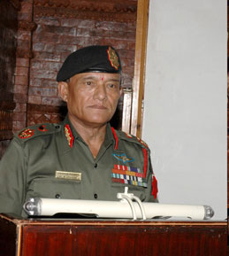 Chief of Army (CoAS) Staff Rookmangud Katawal