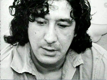 The young radical activist Leonard Peltier