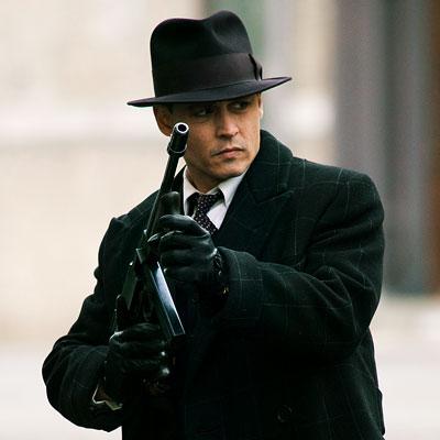 movie john dillinger public enemies movie underwhelmed carried movie hat