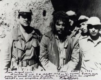 Ernesto Guevara moments before his execution