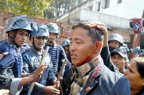 mass actions in nepal_maoist_kathmandu_4