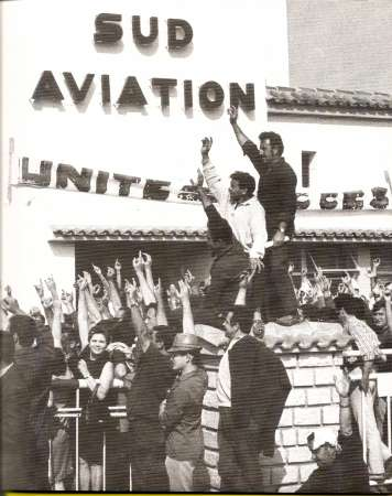 The Sud-Aviation factory occupation, France 1968
