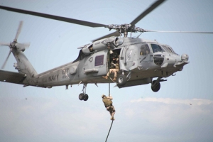 Navy Seals death squads dropping from helicopters