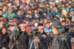 People's Volunteers journalists at Maoist congress