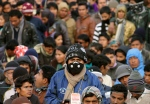 Masked at Maoist congress